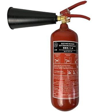 Вуглекислотні вогнегасники